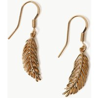 M&S Collection Leaf Earrings