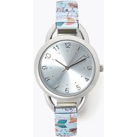 MandS Collection Floral Strap Expander Watch