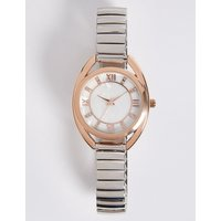 M&S Collection Roman Numeral Round Face Watch