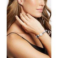 M&S Collection Spiral Glass Bracelet