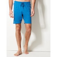 M&S Collection 2 Pack Pure Cotton Pyjama Shorts