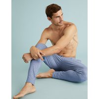 M&s Collection 2 Pack Pure Cotton Long Pyjama Bottoms