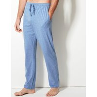 M&s Collection 2 Pack Jersey Long Pyjama Bottoms