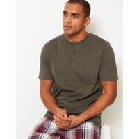 M&S Collection Pure Cotton Pyjama Top