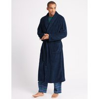 M&S Collection Supersoft Fleece Dressing Gown
