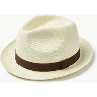 M&S Collection Whitney Panama Hat