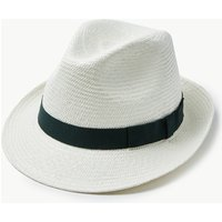 M&S Collection Trilby Panama Hat