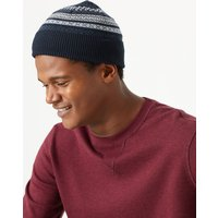 M&S Collection Fair Isle Beanie Hat