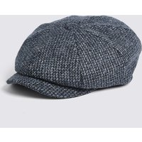M&S Collection Pure Wool Baker Boy Cap