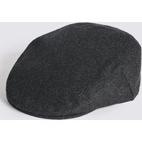 M&S Collection Wool Blend Flat Cap