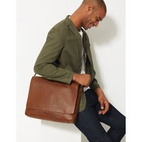 MandS Collection Pebble Grain Leather Messenger