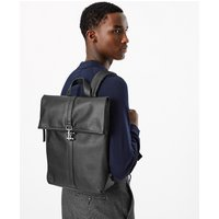 M&S Collection Saffiano Fold Over Backpack