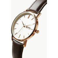 MandS Collection Slim Day Date Watch
