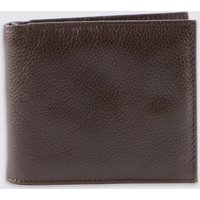 M&S Collection Leather Slim Popper Bi-fold Wallet with Cardsafe