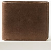 M&S Collection Leather Bi-fold Wallet with Cardsafe