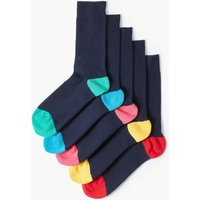 M&S Collection 5 Pack Cool & Fresh Cushioned Socks