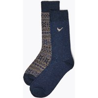 M&S Collection 2 Pack Thermal Socks