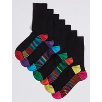 M&S Collection 7 Pack Freshfeet Cotton Rich Socks