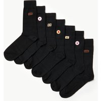 M&S Collection 7 Pack Cool & Freshfeet Embroidered Socks