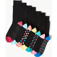 M&S Collection 7 Pack Cotton Rich Cool & Freshfeet Socks