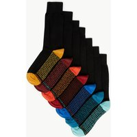 M&S Collection 7 Pack Cool & Freshfeet Cotton Socks
