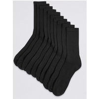 M&S Collection 10 Pack Cotton Rich Sports Socks