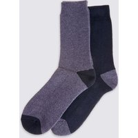 M&S Collection 2 Pack Ultraheat thermal Socks