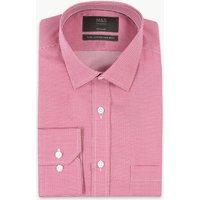 M&S Collection Pure Cotton Non-Iron Shirt