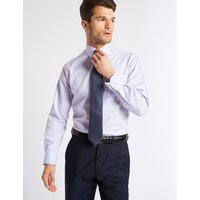 M&S Collection 2in Longer Non-Iron Regular Fit Shirt