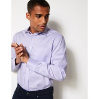 M&S Collection Pure Cotton Non-Iron Twill Shirt