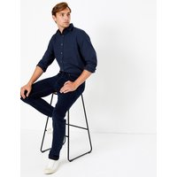 MandS Collection Regular Fit Cotton Twill Shirt