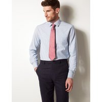 Savile Row Inspired Pure Cotton Twill Tailored Fit Shirt