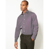 M&S Collection Luxury Pure Cotton Regular Fit Shirt