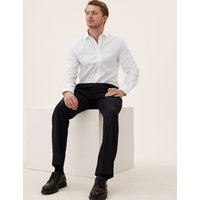 Savile Row Inspired Pure Cotton Tailored Fit Shirt