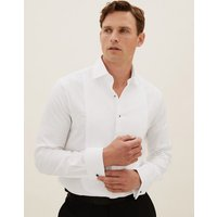 Savile Row Inspired Tailored Fit Pure Cotton Dinner Shirt