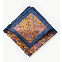 M&S Collection Luxury Pure Silk Paisley Print Pocket Square