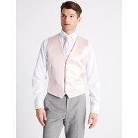 M&S Collection Jacquard Waistcoat