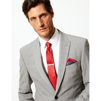M&S Collection 3 Piece Pocket Square, Tie & Pin Set