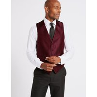 M&S Collection Textured Waistcoat