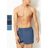 M&S Collection 3 Pack Pure Cotton Printed Boxers