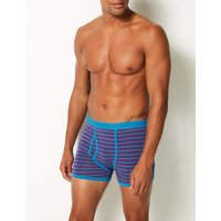 M&S Collection 3 Pack Cotton Rich Cool & Fresh Trunks