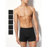 M&S Collection 5 Pack Pure Cotton Cool & Fresh Trunks