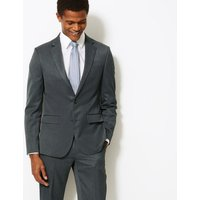 M&S Collection Grey Slim Fit Jacket