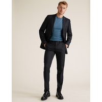 MandS Collection Navy Slim Fit Jacket
