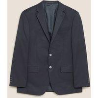MandS Mens Regular Fit Jacket - 40SHT - Navy, Navy,Black,Grey