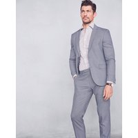 MandS Collection Blue Slim Fit Jacket with Stretch
