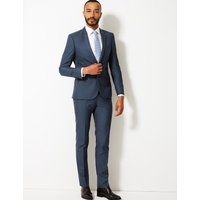 M&S Collection Indigo Skinny Fit Jacket