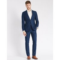 M&S Collection Indigo Regular Fit Jacket