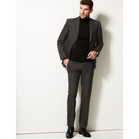 MandS Collection Charcoal Tailored Fit Jacket