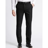 M&S Collection Charcoal Slim Fit Trousers